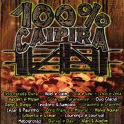 100% Caipira Ao Vivo - Cd Nacional