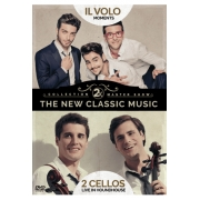 2 X NEW CLASSIC MUSIC - IL VOLO MOMENTS & 2 CELLOS LIVE IN HOUNDHOUSE - DVD NACIONAL