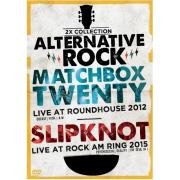 2X ALTERNATIVE ROCK VOL 1 MATCHBOX TWENTY LIVE  AT ROUNDHOUSE 2013 - SLIPKNOT LIVE AT ROCK AM RING 2015 - DVD NACIONAL