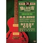 2X BLUES - B.B.KING - NORTHSEA JAZZ 2009  BUDDY GUY - BADEN BADEN- DVD NACIONAL