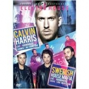 2X ELECTRO HOUSE - CALVIN HARRIS LIVE AT ROUNDHOUSE 2014 - SWEDISH HOUSEMAFIA LIVE AT ROUNDHOUSE - DVD NACIONAL