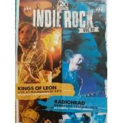 2X INDIE ROCK VOL 02 KINGS OF LEON LIVE AT ROUND HOUSE 2013 - RADIOHEAD BONNAROO FESTIVAL 2012 - DVD NACIONAL