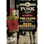 2X PUNK ROCK VOL 02 THE CLASH ANTHOLOGY - DEAD KENNEDYS ON BROADWAY 2003 - DVD NACIONAL