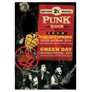 2X PUNK ROCK VOL 03 THE OFFSPRING ROCK AM RING 2014, GREEN DAY READING FESTIVAL 2013 - DVD NACIONAL