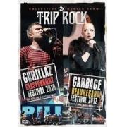 2X TRIP ROCK - GORILLAZ FESTIVAL 2010 - GARBAGE BEAUREGARD FESTIVAL 2012 - DVD NACIONAL