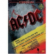 AC/DC ESPECIAL SHOWS - ROCK GOES TO COLLEGE 1978 - GOLDERS GREEN LONDON HIPPODROME 1977 - CIRCUS KRONE 2003 - DVD NACIONAL