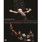 Adriana Calcanhotto - Microbio Vivo - Blu Ray Nacional