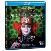 Alice No Pais Das Mavilhas 3D - Blu Ray Nacional