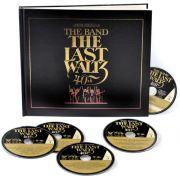 Band Last Waltz 40th Anniversary Edition Box 4 Cds + Blu ray Importados