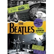 BEATLES EM DOBRO - LIVE IN EUROPEAN TOUR 1965 - LIVE IN WASHINGTON FEB 11TH 1964 - DVD NACINAL
