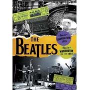 BEATLES EM DOBRO - LIVE IN EUROPEAN TOUR 1965 - LIVE IN WASHINGTON FEB 11TH 1964 - DVD NACINAL