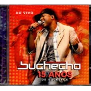 Buchecha - 15 Anos de Sucessos - Dvd Nacional