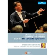 Christian Thielemann - Dresden Staatskapelle - Complete Symphonies & Discovering Brahms - 2 Blu Rays Importados