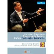 Christian Thielemann - Dresden Staatskapelle - Complete Symphonies & Discovering Brahms - 2 Blu Rays Importados
