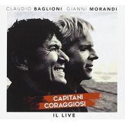 Claudio Baglioni & Gianni Morandi - Capitani Coraggiosi: Il Live - Cd Importado