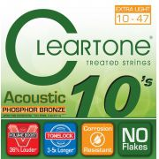 Encordoamento Cleartone Acoustic Phosphor-Bronze Extra Light 10-47