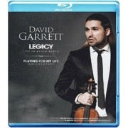 David Garrett- Live In Baden Baden  -  Legacy: Playing for My Life - Blu Ray Importado