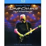 David Gilmour - Remember That Night: Live at the Royal Albert Hall - Blu Ray Importado