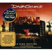 David Gilmour Live in Gdansk - 2 Cds+Dvd Importados