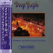 Deep Purple - Made in Europe - Japanese Mini-Lp Sleeve - Cd Importado