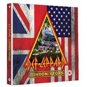 Def Leppard - London To Vegas Limited Edition, Boxed Deluxe Edition - 2 Blu rays + 4 Cds Importados