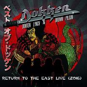 Dokken  Return To The East Live 2016 Cd+ Dvd Importado