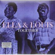 Ella Fitzgerald & Louis Armstrong Together - 2 Lps Importados