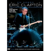 ERIC CLAPTON EM DOBRO - LIVE IN JAPAN WITH FRIENDS - LIVE IN LONDON 1985 - DVD NACIONAL