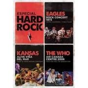 ESPECIAL HARD ROCK - KANSAS ALIVE VINA DEL MAR & EAGLES ROCK CONCERT 1975 & THE WHO AIR CANADA CENTRE 2006 - DVD NACIONAL