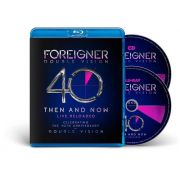 Foreigner  Double Vision Then And Now Cd + Blu Ray Importado