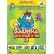 Galinha Pintadinha - Volume 3 - Blu Ray Nacional