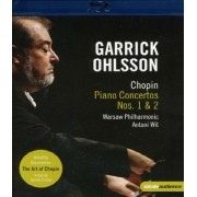 Garrick Ohlsson Plays Chopin: Art of Chopin - Piano Concerto nº 1 e nº 2 Blu ray Importado
