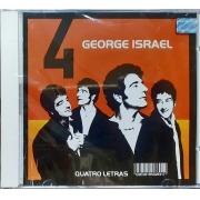 George Israel - Quatro Letras - Cd Nacional