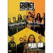 GROUNGE VOL 01 FOO FIGTHERS, ALICE IN CHAINS E PEARL JAM - DVD NACIONAL