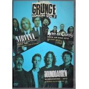 GRUNGE VOL 02  NIRVANA, ALICE IN CHAINS E SOUNDGARDEN DVD NACIONAL