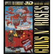 Guns N' Roses Appetite for Democracy 3D/2D: Live at the Hard Rock Casino - Box Importado