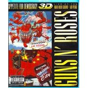 Guns N Roses - Appetite For Democracy 3d - Blu Ray Importado