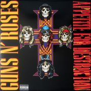 Guns N Roses - Appetite For Destruction - Vinil 180 Gramas - Lp Importado