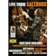Gustavo Dudamel - Live From Salzburg - Dvd Importado