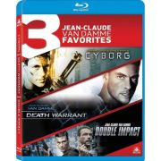 Jean-Claude Van Damme Favorites: Cyborg / Death Warrant / Double Impact - Blu ray Importado