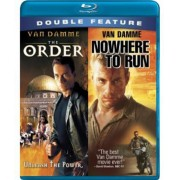 Jean-Claude Van Damme The Order / Nowhere to Run - Blu ray Importado