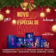 Joelma de Natal 25 Anos Autografado - Kit Premium Voando Pro Pará 3º lote - 2 Cds + Dvd Nacional