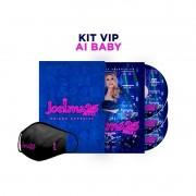 Joelma 25 Anos - Kit VIP Ai Baby - 2 Cds + Dvd Nacionais