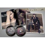 Laura Pausini Fatti Sentire Ancora: The Magazine - Cd+Dvd e Revista importados