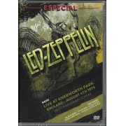 LED ZEPELLIN ESPECIAL LIVE AT KNEBWORTH PARK - ENGLAND - AUGUST 4TH 1979 - DVD NACIONAL