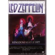 LED ZEPPELIN KINGDOM SEATLE 1977 - DVD NACIONAL