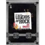 LEGENDS OF ROCK - LIVE CONCERTS - DVD NACIONAL