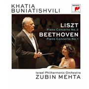Liszt / Buniatishvili / Liszt & Beethoven: Piano Concertos - Blu-Ray Importado
