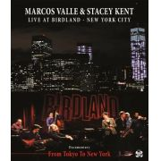Marcos Valle & Stacey Kenty - Live At Birdland - New Yor City - 2 Dvds +1 Cd