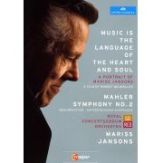 Mariss Jansons Music Is Language of Heart & Soul / Mahler Sym 2 - Dvd Importado